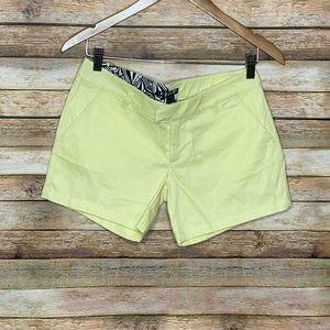 Volcom| Shorts| Yellow| Size 3